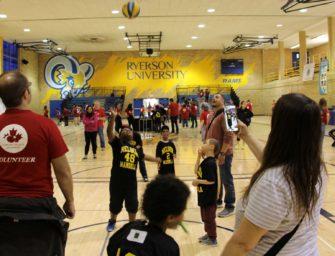 Special Olympics'te Çocuklarla Beraber